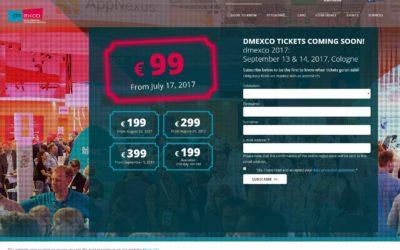 DMEXCO 2017 TIPS Y EXPOSITORES